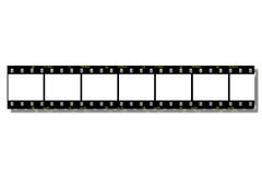 Film Strips (Clip Path). Film Strips - With Clipping Path Stock Photography