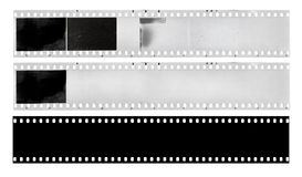Film strips - vintage blank film strip frame Royalty Free Stock Photo