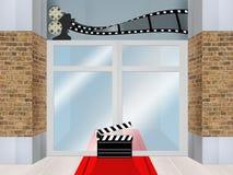 Film studios. Cute illustration of film studios Royalty Free Stock Photos