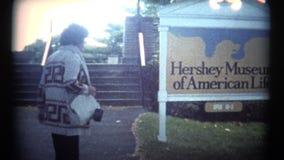 (Film 8 superbe) visite 1974 de chocolat de Hershey clips vidéos