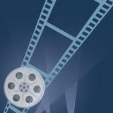 Film tape camera vector. Illustration Royalty Free Stock Image