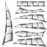 Film tape color art vector part two Stock Images