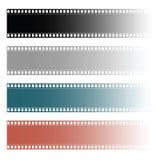Film tape roll illustration. Film tape roll set illustration Royalty Free Stock Photography