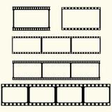 Film tape set Stock Photo