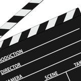 Film tape symbol black vector Stock Image