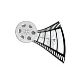 Film tape vector part two. Film tape vector illustration part two Stock Image