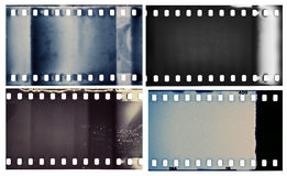 Film textures Royalty Free Stock Photos