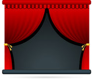 Film theater stage. Original  Illustration: Film theater stage Stock Photography