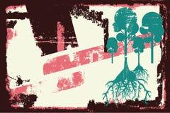 Film tree border element Stock Images