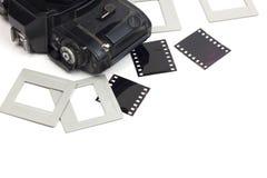 135 film uitstekende camera Royalty-vrije Stock Afbeelding