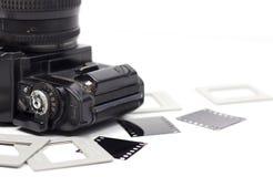 135 film uitstekende camera Stock Fotografie
