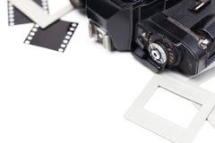 135 film uitstekende camera Stock Foto's