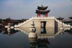 Film und Fernsehstadt Hengdian, Jinhua, Zhejiang, China Lizenzfreies Stockfoto
