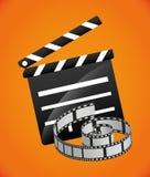 Film- und Kinoikonen Lizenzfreies Stockfoto
