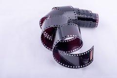 Film usato rotolo Fotografia Stock