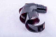Film utilisé par petit pain Photo stock