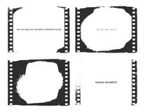 Film. Vector background. Eps8. Vector film strip illustration. Eps8 Stock Photography
