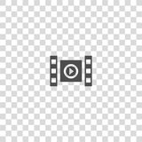 Film vector icon Royalty Free Stock Image