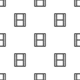 Film, vector seamless pattern Stock Photography
