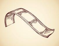 film Vector tekening vector illustratie