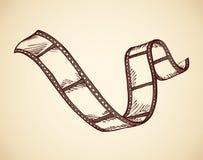 film Vector tekening stock illustratie