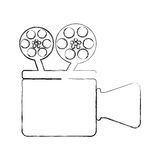 Film video camera icon. Vector illustration design vector illustration