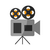 Film video camera icon. Vector illustration design Royalty Free Stock Image