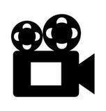 Film video camera icon Stock Image