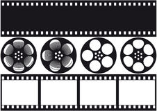 Film visuel Photographie stock libre de droits