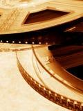 film w kinie Zdjęcia Royalty Free