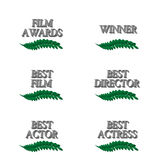 Film Winners 3D 3 Royalty Free Stock Images