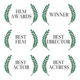Film Winners 1 Royalty Free Stock Photo
