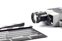 Filma bransch och filma produktionbegreppet arkivfoton