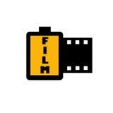 Filmabbildung Stockfoto