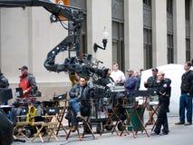 Filmando próximo de filme R.I.P.D. Foto de Stock Royalty Free