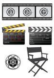 Filmausrüstungen Stockfotografie