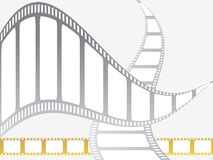 Filmbänder lizenzfreie abbildung