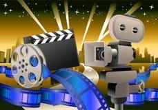 Filmbakgrund Royaltyfri Bild