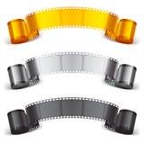 Filmband stock illustrationer