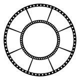 Filmband Vector illustratie stock illustratie