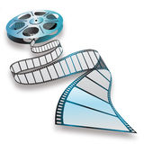 Filmbandspule Lizenzfreie Stockfotografie