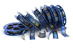 Filmbandspulen Lizenzfreies Stockfoto