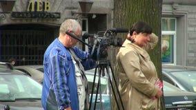 Filmbemanning stock video