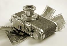 Filmcamera. Photographie stock