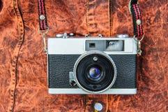 Filmcamera's die in het verleden populair waren geweest Stock Afbeelding