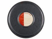 Filmcan för tappning 16mm Royaltyfria Foton