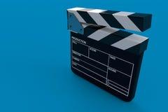 FilmClapperbräde vektor illustrationer