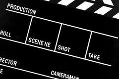 FilmClapperbräde Arkivbilder