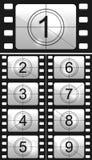 Filmcountdown Stockbilder