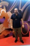 Filmdirektör Anthony Cordier på den 40th MoskvaInternationalfilmfestivalen Arkivfoton